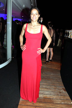 Michelle Rodriguez - De Grisogono Party