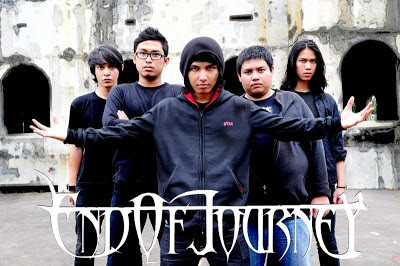 End Of Journey Band Metalcore Jakarta Foto Personil Logo Wallpaper