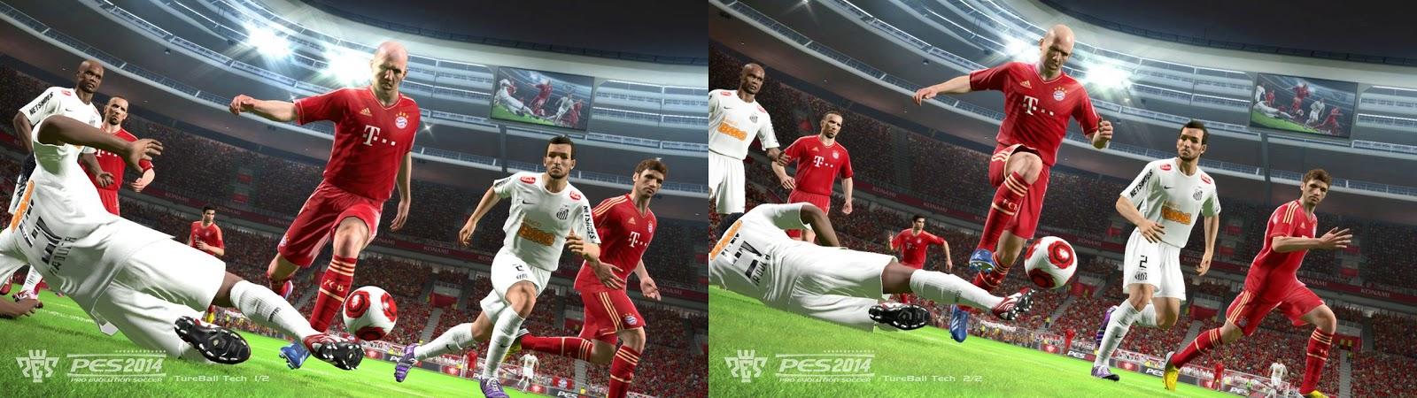 Acompanhando os embalos da E3, Konami revelada duas novas imagens de PES 2014