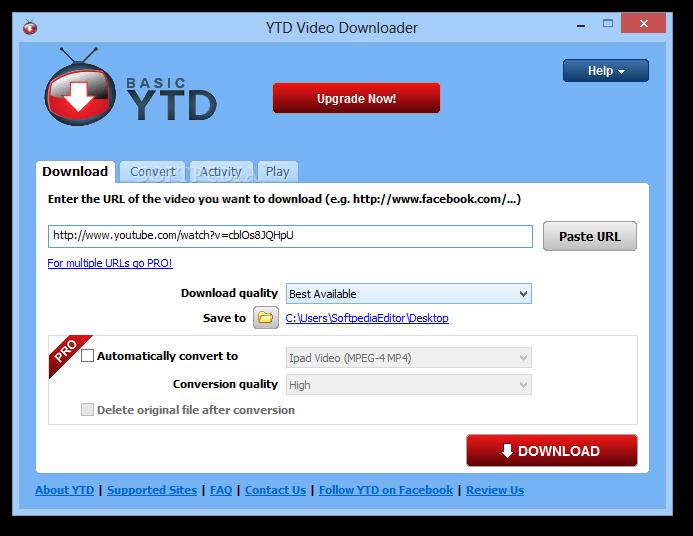 free download ytd converter