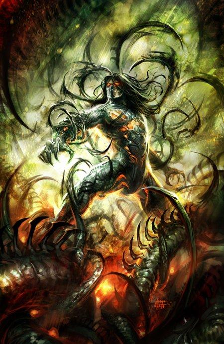 michal ivan ilustrações fantasia ficção científica games quadrinhos darkness
