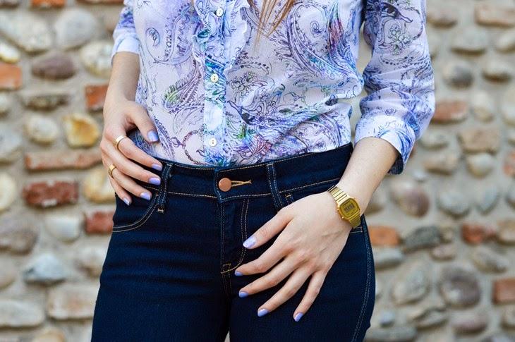 Camicia invidiauomo invidiadonna primavera/estate 2014 concorso look da invidia skinny jeans outfit primaverile casual spring look Thesparklingcinnamon