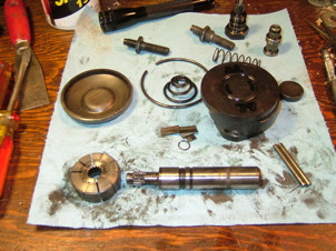 saginaw power steering pump parts
