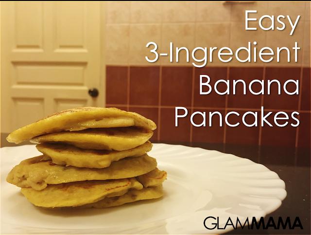 Easy 3-Ingredient Banana Pancake Recipe