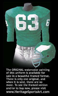 Philadelphia Eagles 1960 uniform