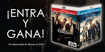Gana un DVD+Blu-ray+Copia digital de 'R3sacón' gracias a Warner Bros y Making Of. CONCURSOS