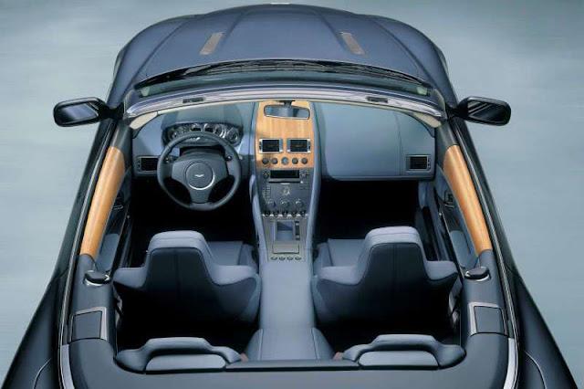 2004+Aston+Martin+DB9+Volante+Interior