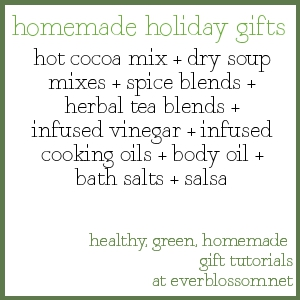 homemade holiday gift idea: cocoa mix