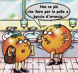 cellulite pelle a buccia d'arancia vignetta