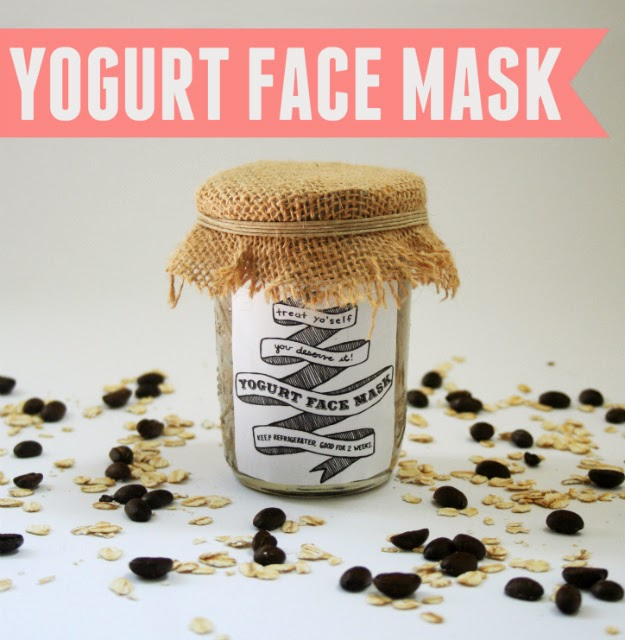 Treat yo'self! This easy DIY face mask only requires four common kitchen ingredients.