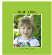 Ellie's 2 year photo book