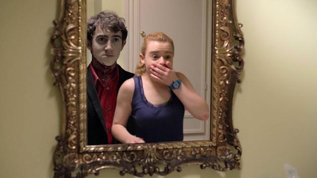 Vincent Martella and Jennifer Laporte in Clinger