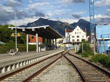 ドイツ フュッセン駅