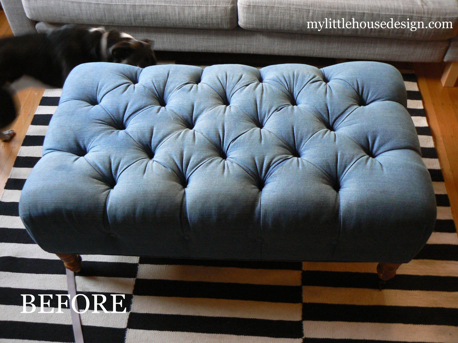 Ottoman Makeover: Part 2