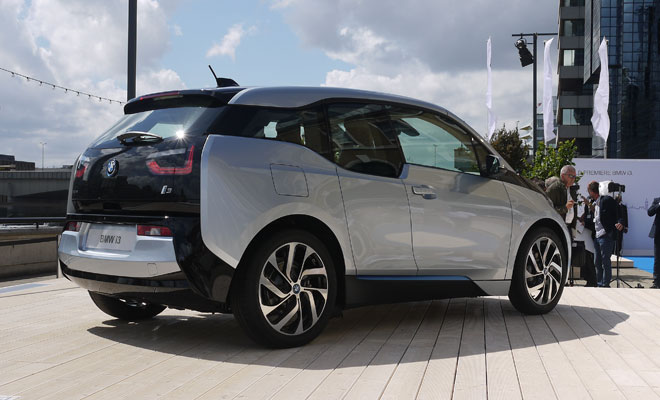 BMW i3 debut - rear view