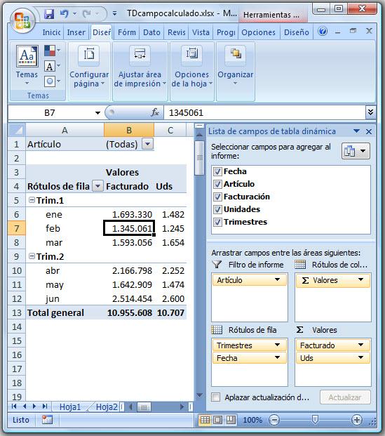 ExcelAvanzado.com: Tablas Dinámicas y Campos calculados