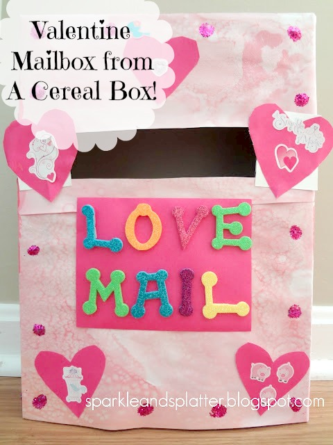 Every Year We Make A Family Valentine Mailbox. This Year, We Decided To Get  Fancy And Decorate It Instead Of A Plain Old Box.