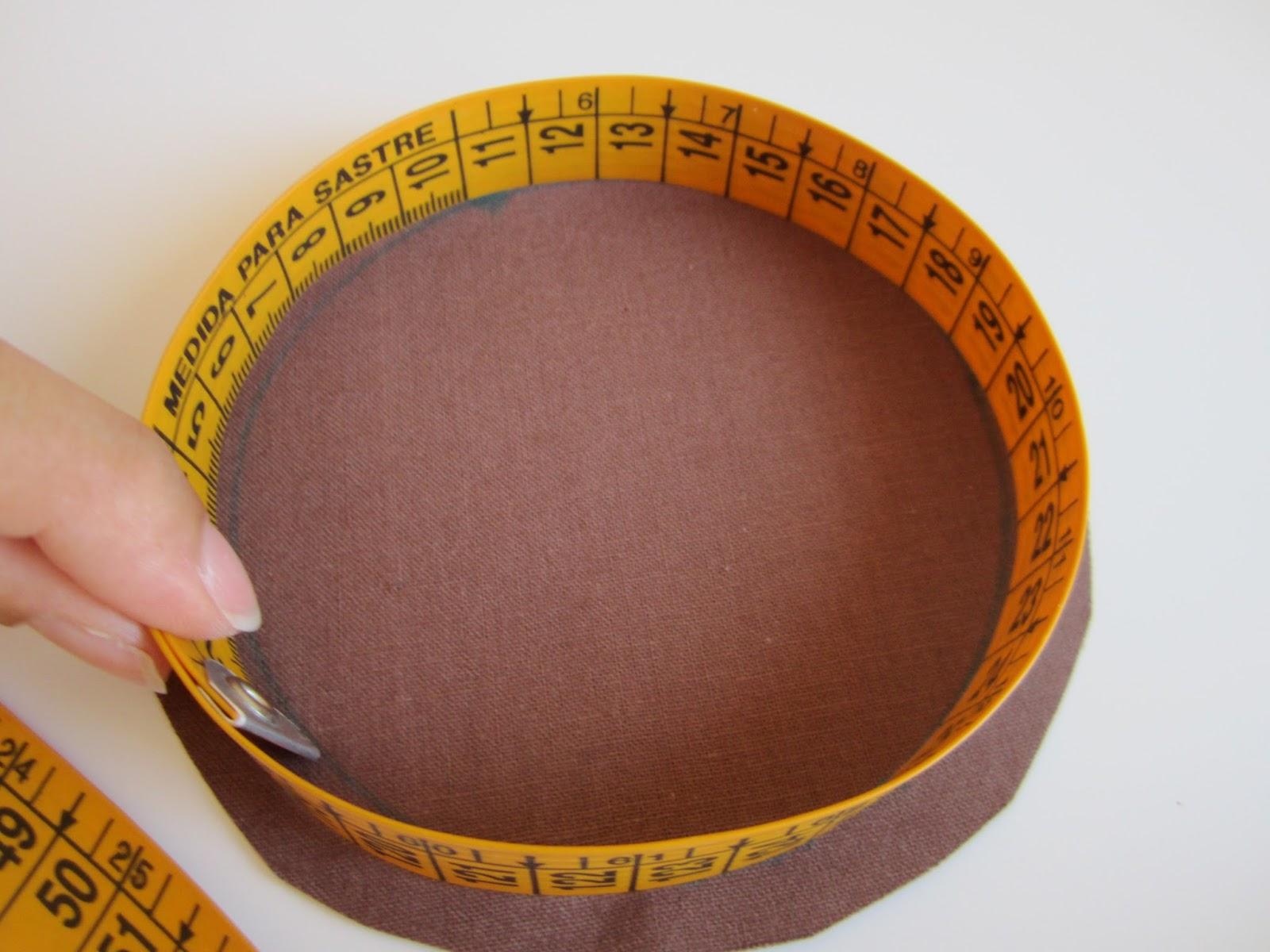 mis nancys, mis peques y yo, tutorial bolsita de viaje, medir perímetro círculo