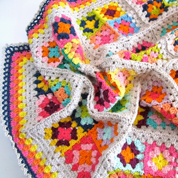 How To Crochet A Granny Square Blanket Pattern : Color n Cream Crochet and Dream: Crochet Pattern Granny ...