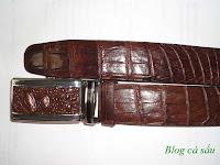 thắt lưng da cá sấu l30
