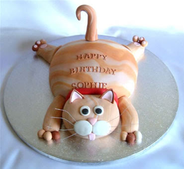 cute cat birthday cakes