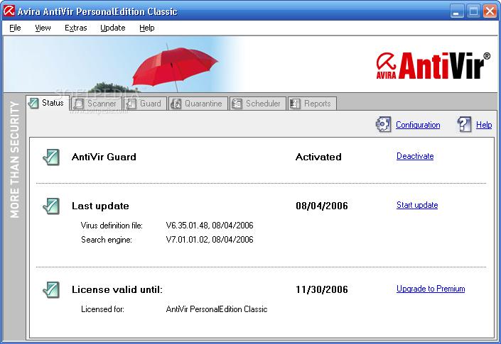 Avira Free Antivirus 14.0.3.338 softwikia