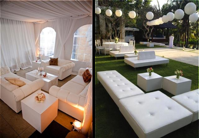 Cómo crear un rincón chill out tipo lounge en tu boda