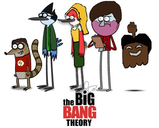 The Big Bang Regular Theory Show por ThunderFists1988