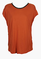 Tricou ZARA Simpo Orange (ZARA)