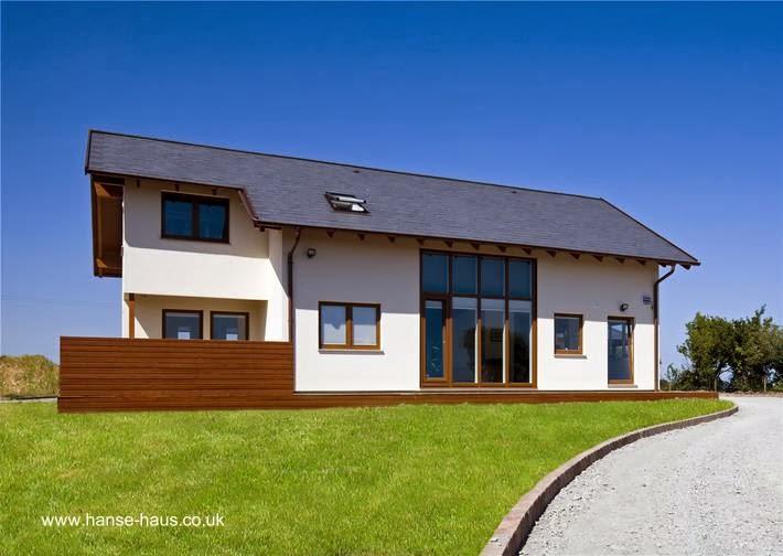 Arquitectura de casas las viviendas prefabricadas - Materiales para casas prefabricadas ...