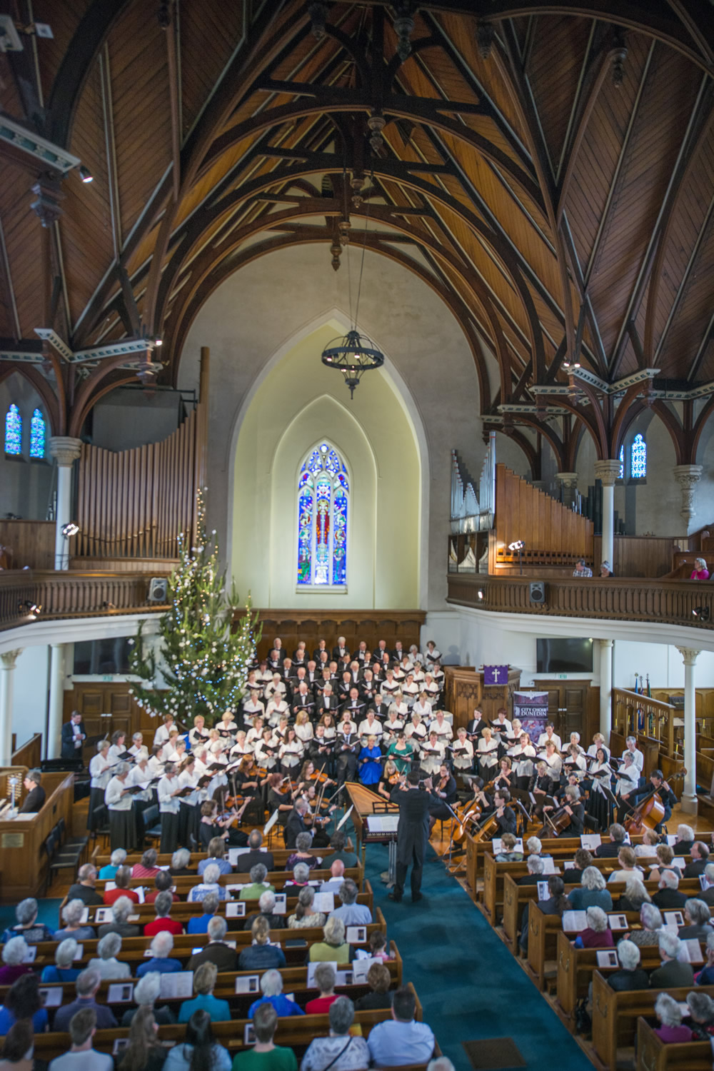 City Choir Dunedin: Choir\'s baroque Christmas evokes joyful sound