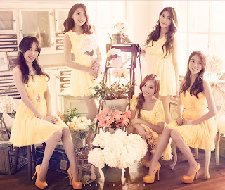 KARA Bye Bye Happy Days cover pics