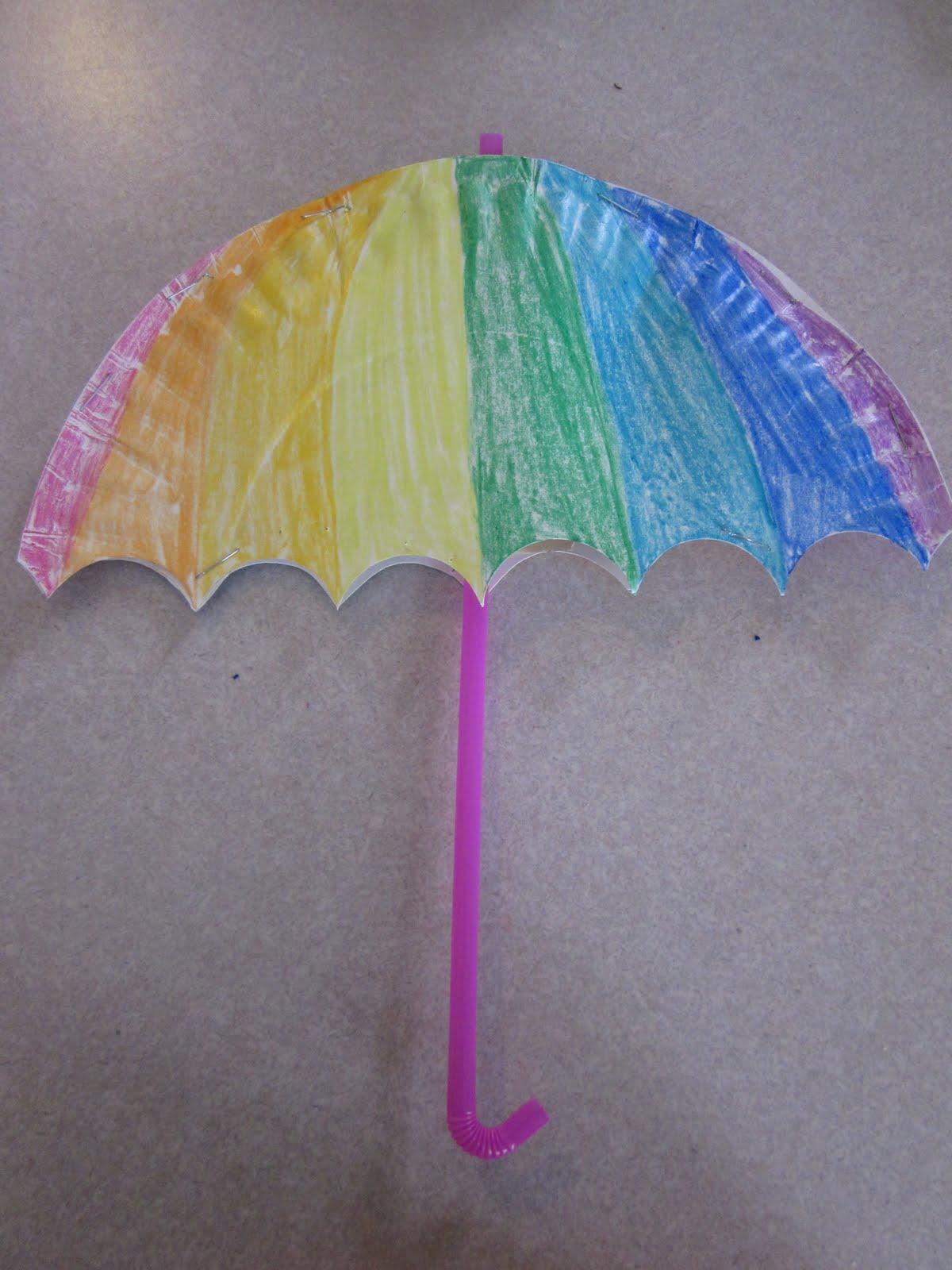 Поделка зонта