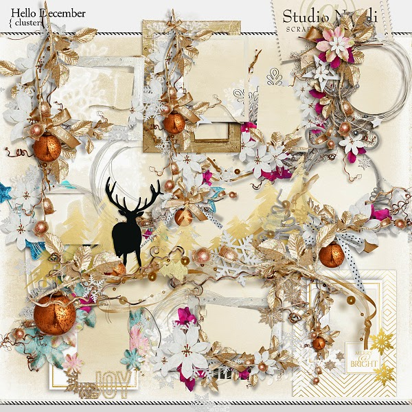 http://shop.scrapbookgraphics.com/Hello-December-Clusters.html