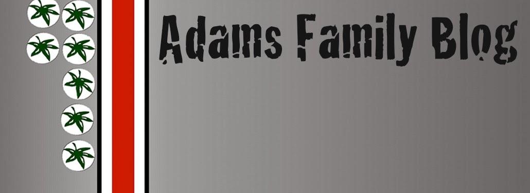 Adams Family Blog