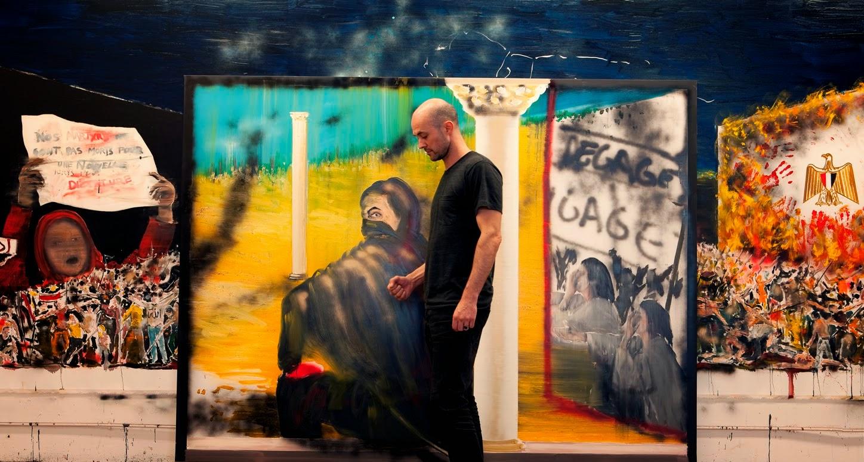 UMAM: Stéphane Pencréac'h : Peinture d'Histoire