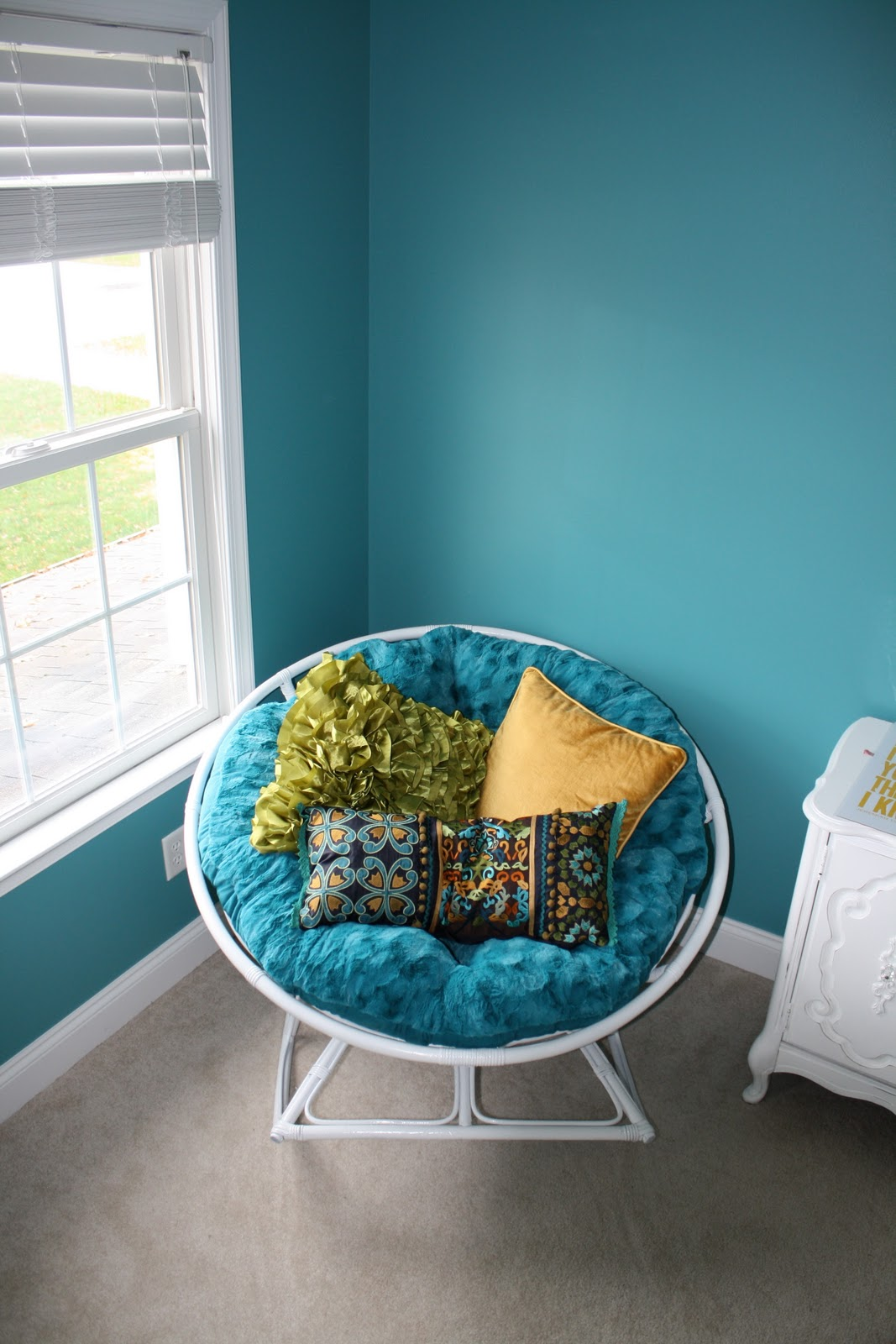 Papasan Chair In Living Room Papasan Rockasan Transformation Part 2 In The Nursery