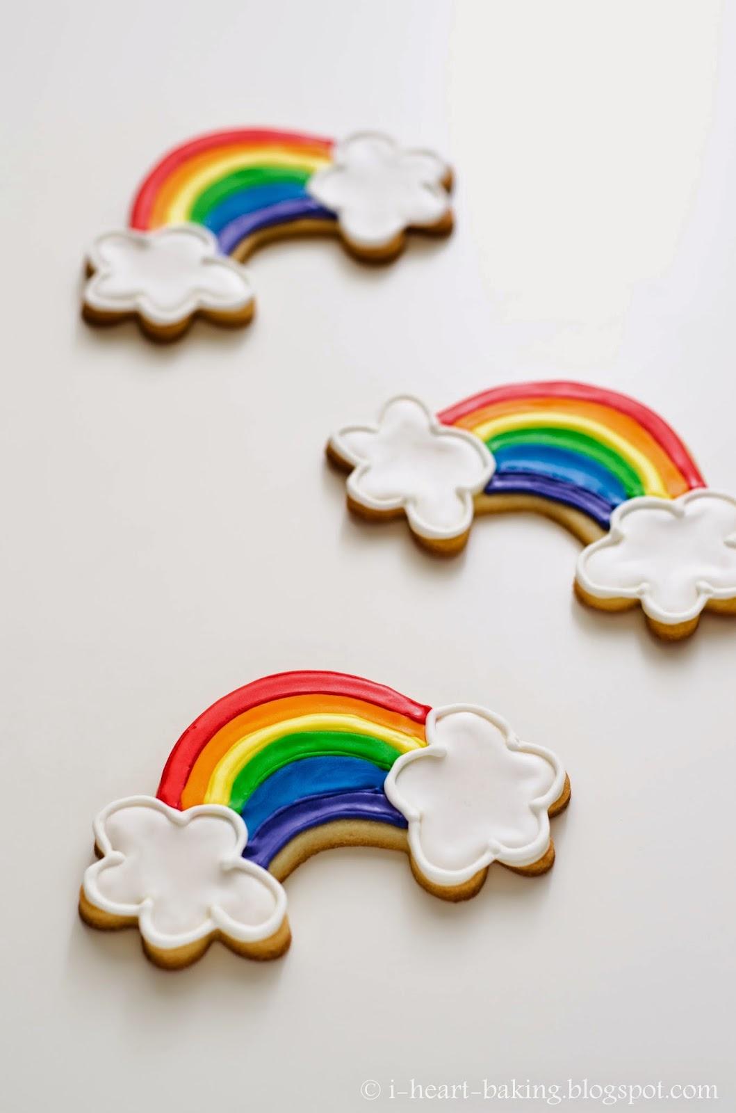 i heart baking!: rainbow cookies