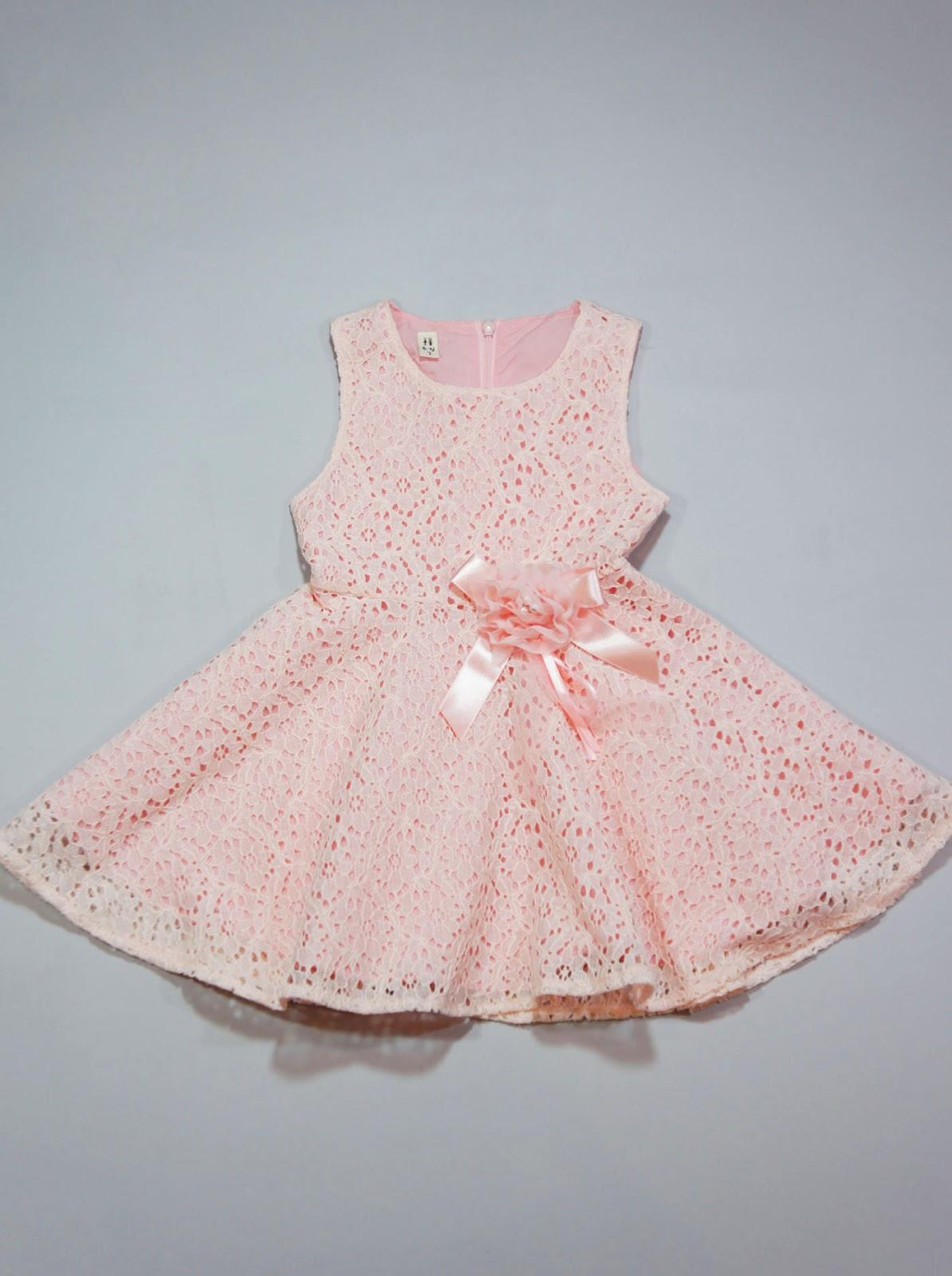Baby girl dress little girls dress pinkyp pink baby girl dress little