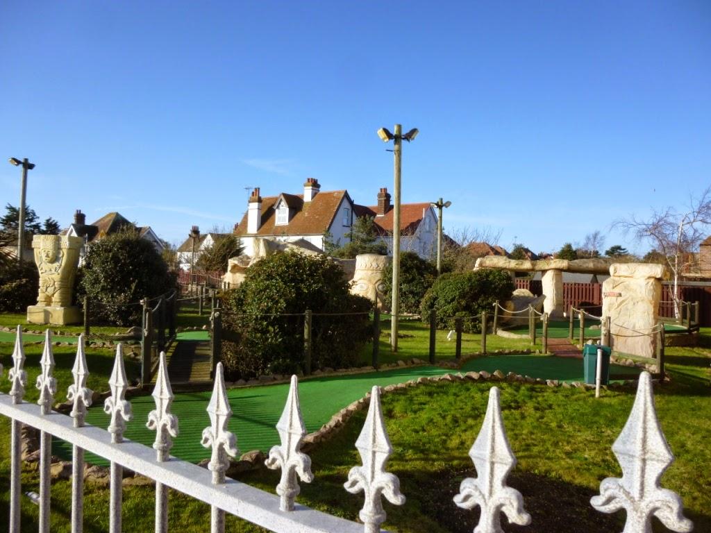 Fantasia Adventure Golf on Sea Road in Felixstowe, Suffolk