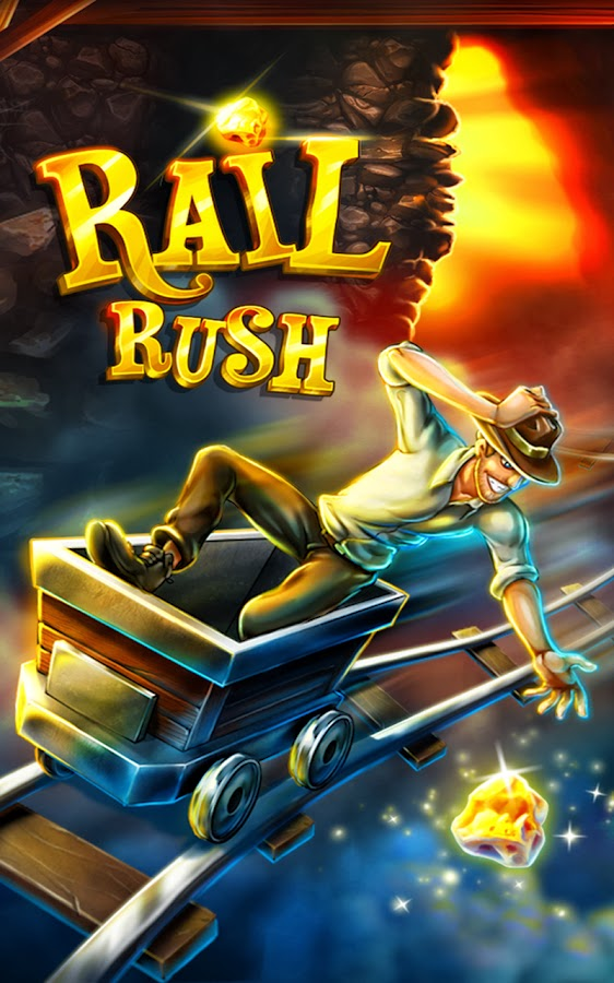 Rail Rush APK v1.6.0 Latest Version Unlimited Nuggets & Content Hack