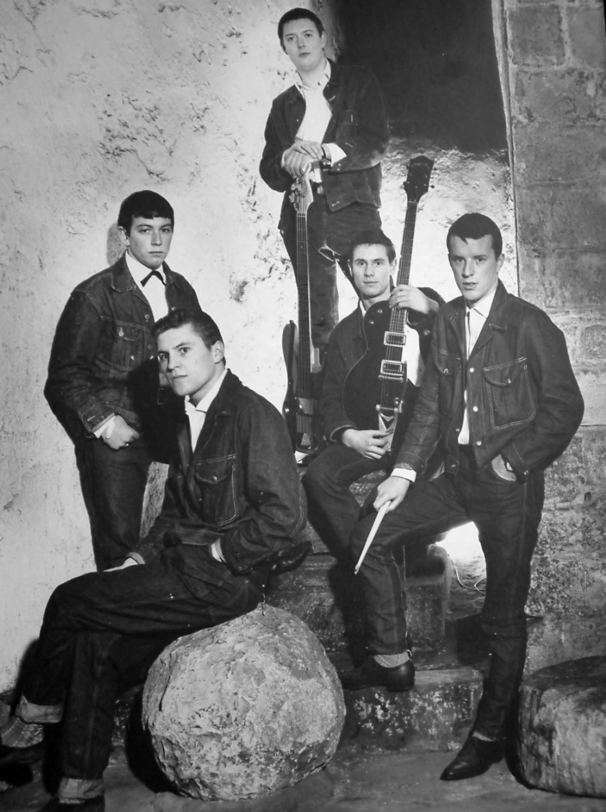 Imagen de la banda británica The Animals en 1964