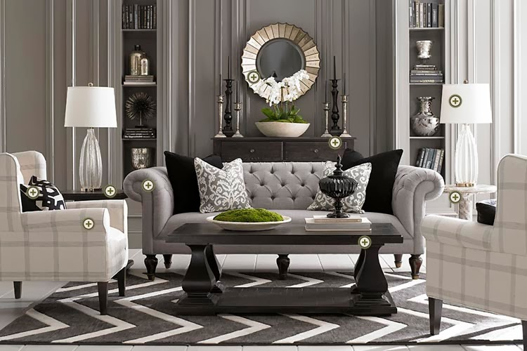 Living Room Furniture Ideas at Home and Interior Design Ideas