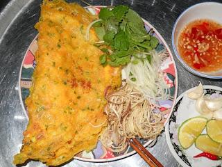 Xeo Cake in Quang Binh