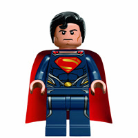 El Hombre de Acero se pasa al plástico con LEGO