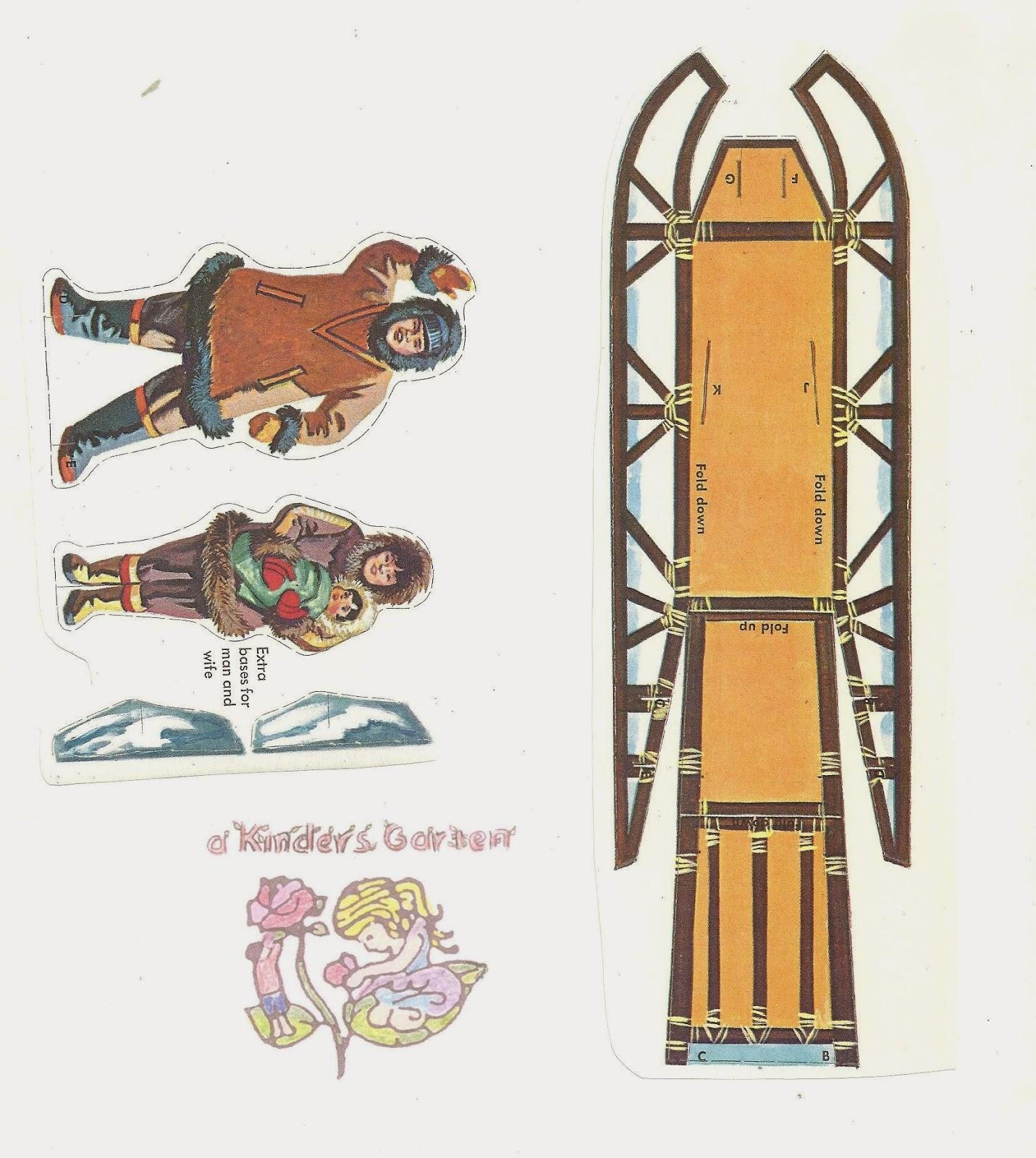 A Kinders Garten Vintage Homeschool: We Iditarod, Do You?