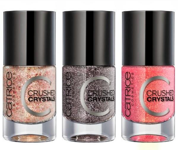 lala berlin loves catrice crushed crystals nail polish