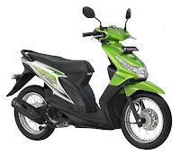 Honda Beat SW Hijau