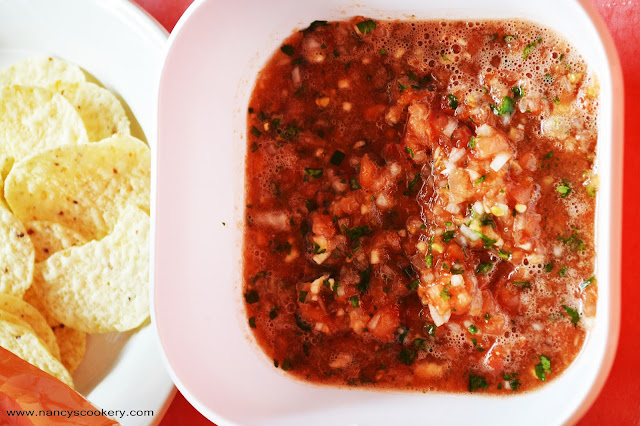 Easy savory Salsa Recipe