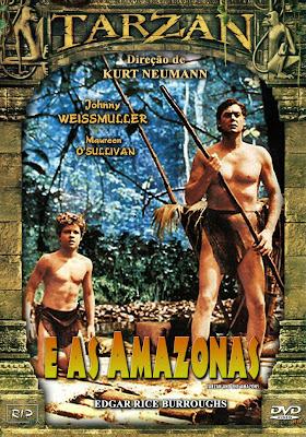 Tarzan e As Amazonas - DVDRip Dublado